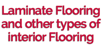 Laminate Flooring and Other Types of Interior Flooring