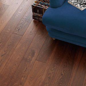 Woodpecker Harlech oak brushed flooring